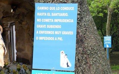 Ubicación Santuario Virgen del Cerro