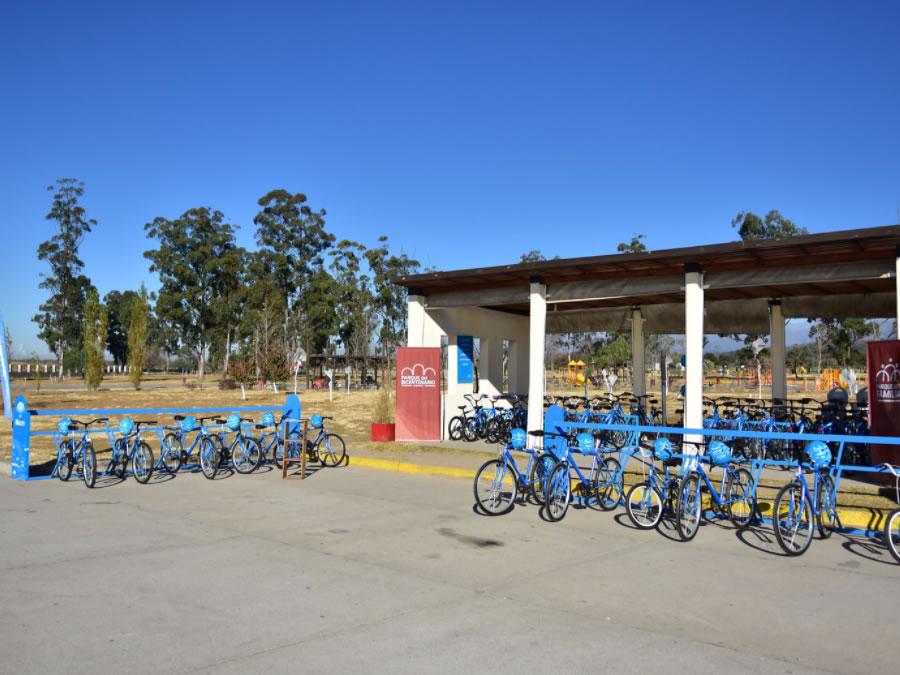 bicicletas parque bicentenario