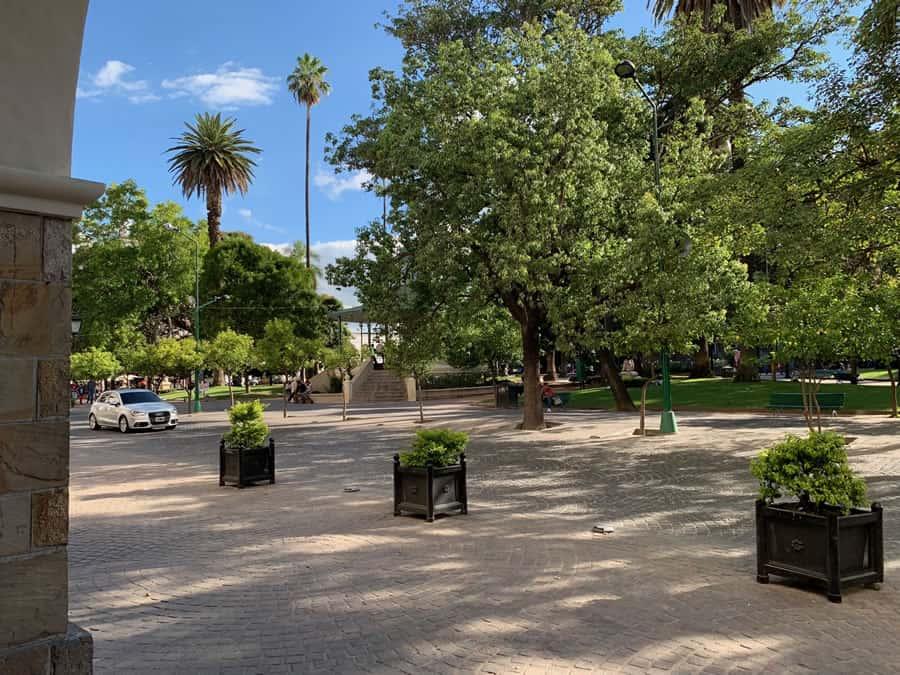 glorieta plaza 9 de julio
