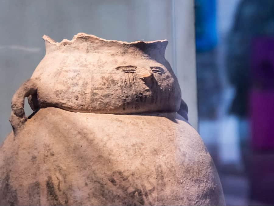 museo de antropologia de salta vasija