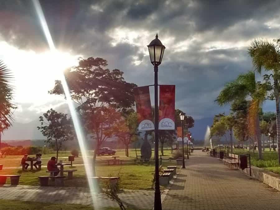 senderos parque bicentenario