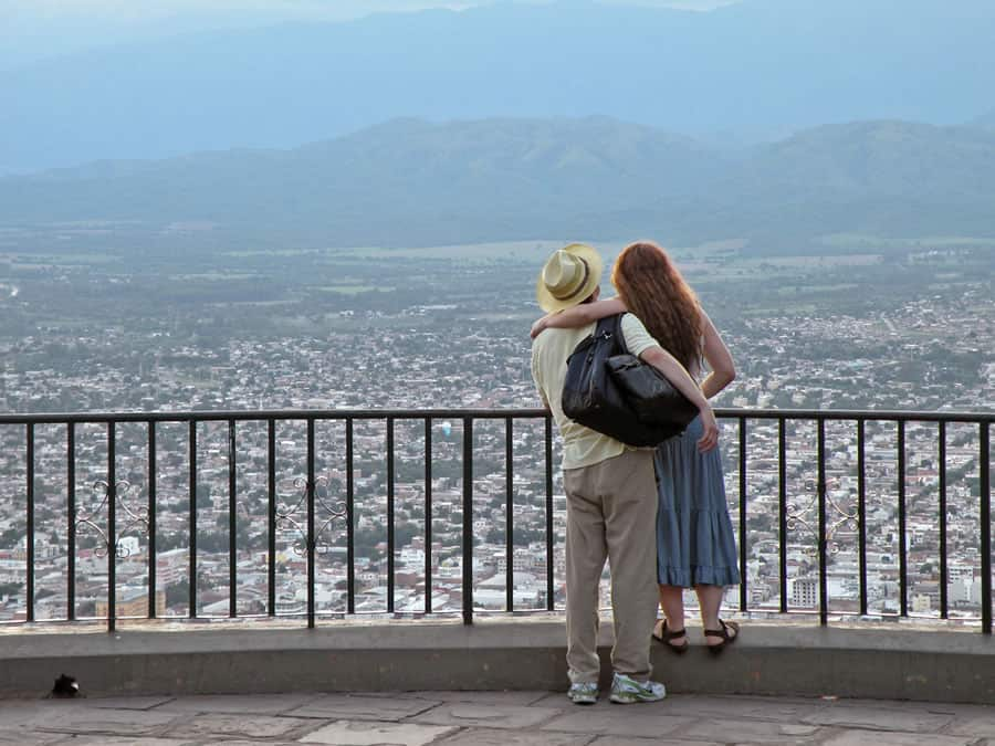 cerro san bernardo vistas