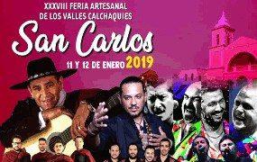 Enero en Salta Festival de San Carlos