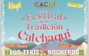 Enero en Salta Festival de la Tradición calchaqui