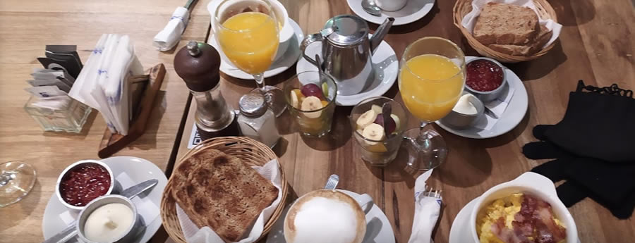 desayuno charleston