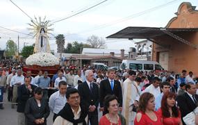 Fiesta en homenaje a la Virgen del Perpetuo Socorro